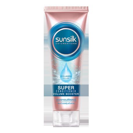Sunsilk Collagen Filler Super Conditioner Volume Booster 180 ml ฉลากหน้าผลิตภัณฑ์