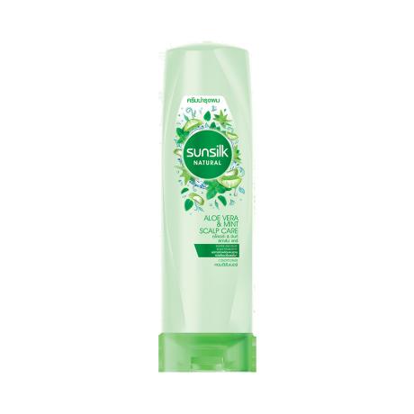 Natural Aloe Vera & Mint Scalp Care Conditioner 320 ml ฉลากหน้าผลิตภัณฑ์