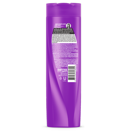 Sunillk Shampoo Perfect Straight 320ml ฉลากด้านหลังผลิตภัณฑ์