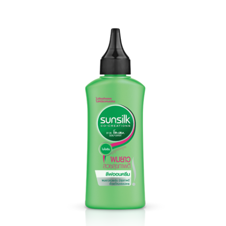 Sunillk Leave On Shampoo Healthy&Long ฉลากด้านหน้าผลิตภัณฑ์