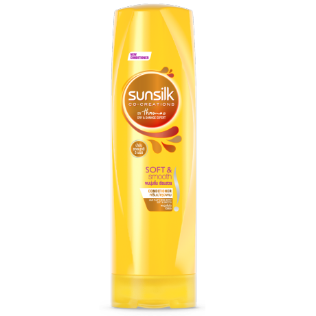 Sunillk Conditioner Soft&Smooth 320ml ฉลากด้านหน้าผลิตภัณฑ์