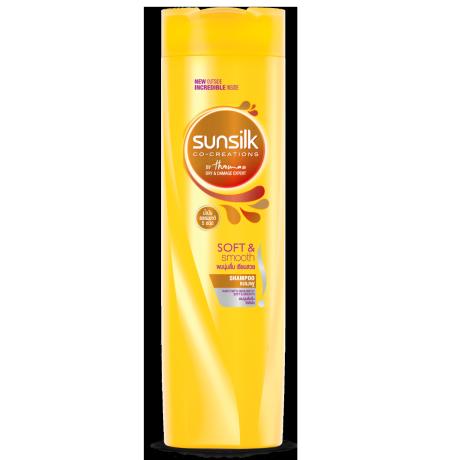 Sunillk Soft&Smooth Shampoo 320ml ฉลากด้านหน้าผลิตภัณฑ์
