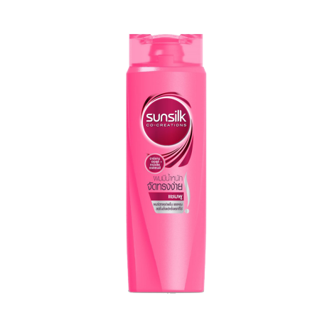 Sunillk Smooth&Manageable Shampoo 320ml ฉลากด้านหน้าผลิตภัณฑ์